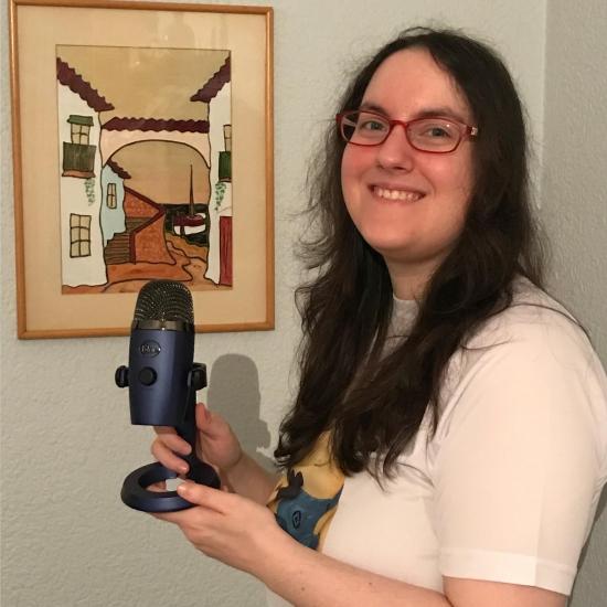 Blogger  Vanessa Calonge - Podcaster